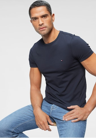 TOMMY HILFIGER T - Shirt »CORE STRETCH SLIM CNECK TEE« kaufen