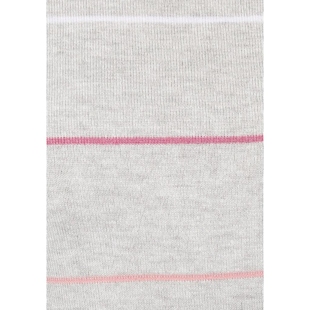 AJC Streifenpullover, im modischen Streifen-Design