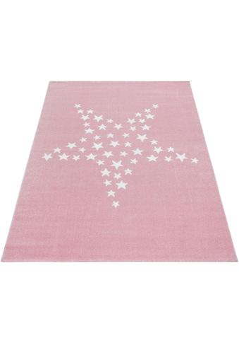 Ayyildiz Kinderteppich »Bambi 870«, rechteckig, 11 mm Höhe, Kurzflor, Motiv Sterne,... kaufen