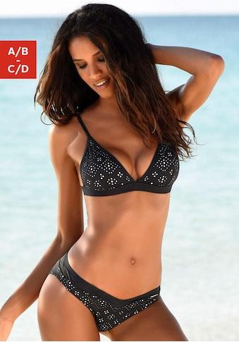 Sunseeker Triangel-Bikini-Top »Femme«, mit Cut Outs kaufen