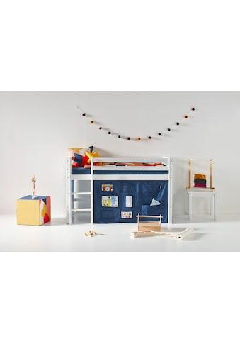 Hoppekids Hochbett, mit Matratze und Textil-Set kaufen