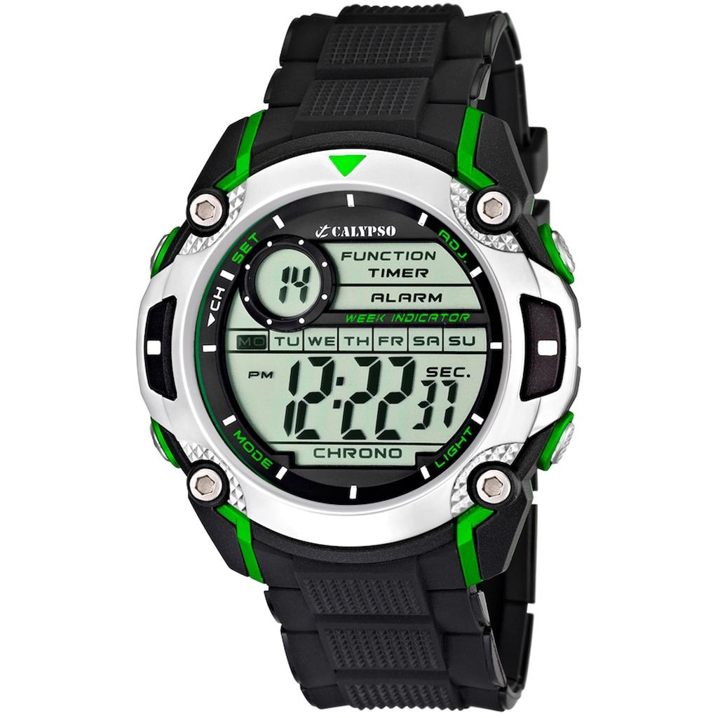 CALYPSO WATCHES Chronograph »Digital For Man, K5577/3«