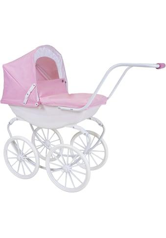 Knorrtoys® Puppenwagen »Classic - rose/white/princess« kaufen