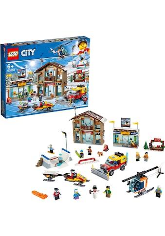 """LEGO® Konstruktionsspielsteine """"Ski Resort (60203)"""", Kunststoff, (806 - tlg.) kaufen"""
