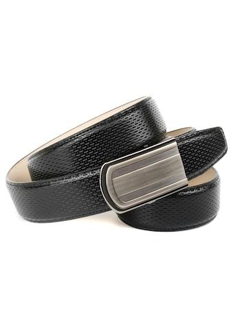 Anthoni Crown Ledergürtel, Ledergürtel mit eleganter Prägung kaufen