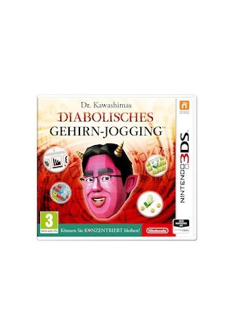 Nintendo Spiel »Dr. Kawashimas diabolisches Gehirn-Jogging (D)«, Nintendo 3DS,... kaufen