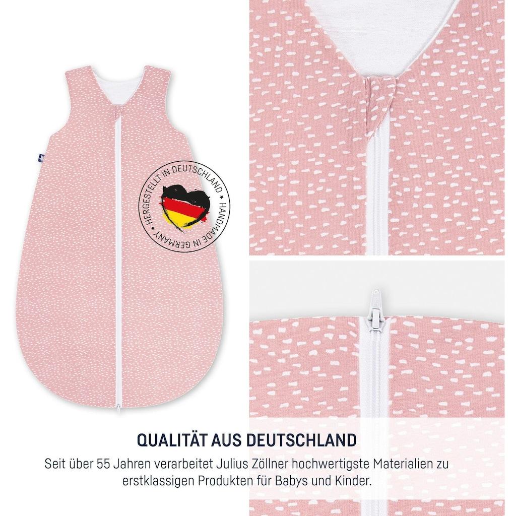 Julius Zöllner Babyschlafsack »Tiny Squares blush«, (1 tlg.)