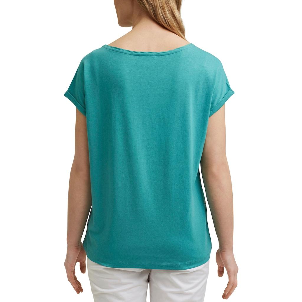 Esprit T-Shirt, mit verschiedenen Allover-Frontprints