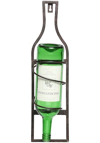 Ambiente Haus Flaschenhalter »Flaschenständer zum hängen 45cm« kaufen