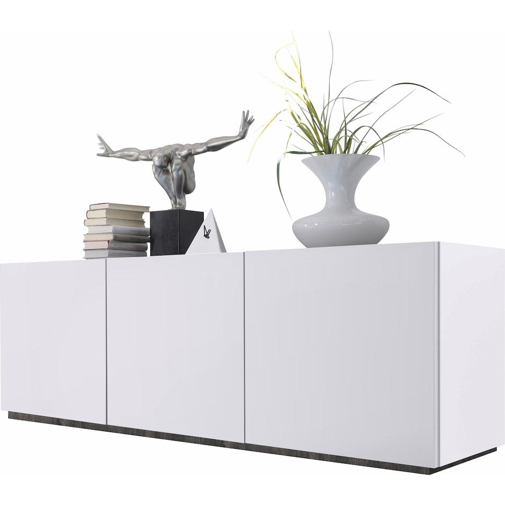 Places of Style Sideboard »Zela«, 3-türig, Breite 184 cm