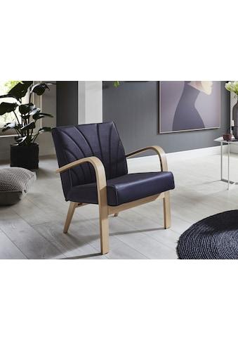 ATLANTIC home collection Loungesessel »Vinny«, Retro -Sessel in Samtvelours,... kaufen