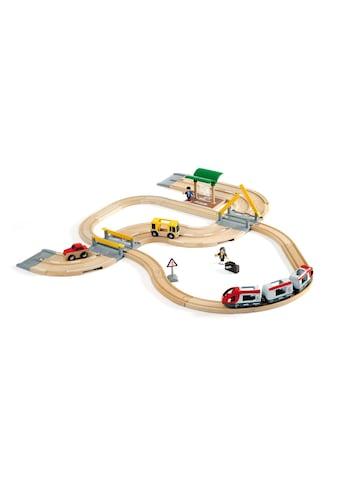 BRIO® Spielzeugeisenbahn-Erweiterung »Brio WORLD Strassen & Schienen Reisezug Set« kaufen