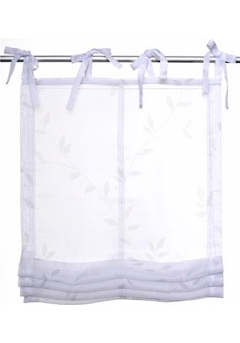 Kutti Raffrollo »Fiorella«, mit Bindebänder kaufen