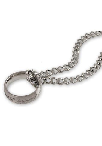 Der Herr der Ringe Kette mit Anhänger »Der Eine Ring an Kette, 10004027«, Made in Germany kaufen