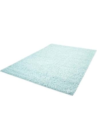 Carpet City Hochflor-Teppich »Pastell Shaggy300«, rechteckig, 30 mm Höhe, Wohnzimmer kaufen