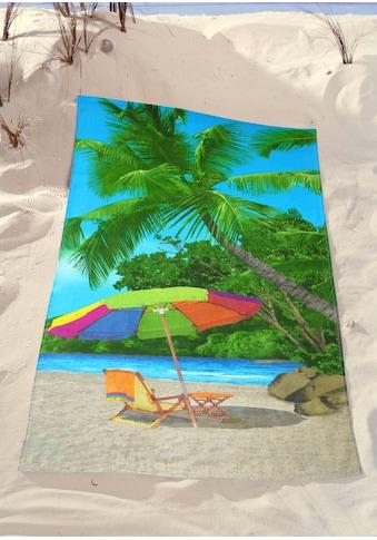 Strandtuch »Palms«, (1 St.) kaufen