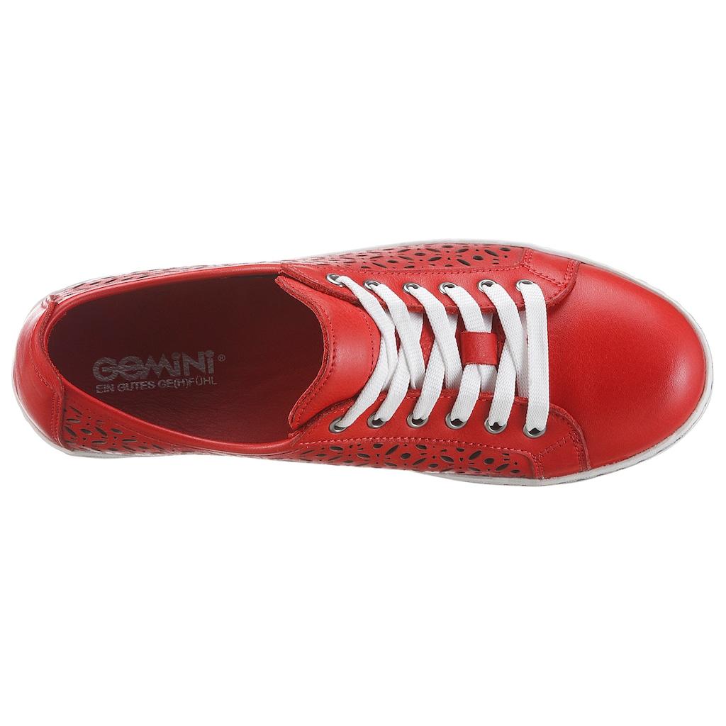 Gemini Sneaker »Ulli«, mit perforiertem Obermaterial