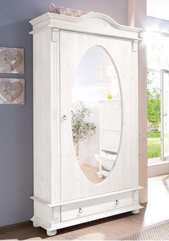 Home affaire Garderobenschrank »Florenz«, mit Spiegel kaufen
