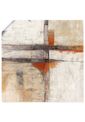 Artland Wandbild »Sicht II«, Muster, (1 St.), in vielen Grössen & Produktarten... kaufen