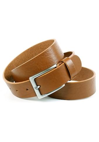 Anthoni Crown Ledergürtel, Glattleder mit leichter Narbung kaufen