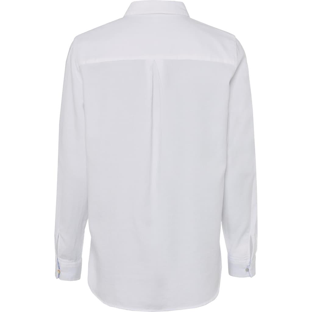 Esprit Hemdbluse, mit Perlmuttknöpfen