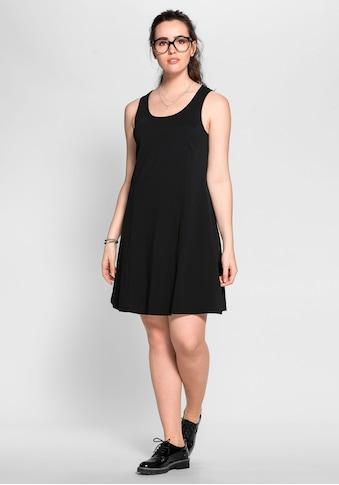 Sheego Jerseykleid, mit breiten Trägern kaufen