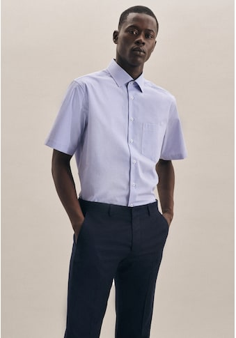 seidensticker Businesshemd »Regular«, Regular Kurzarm Kentkragen Karo kaufen