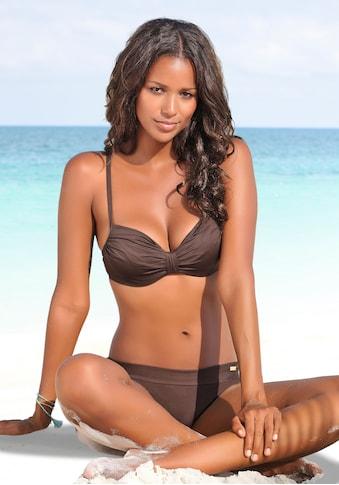 LASCANA Bügel-Bikini-Top »Italy«, mit geraffter Mitte kaufen