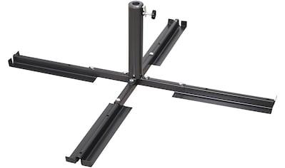 SCHNEIDER SCHIRME Plattenständer Stahl, für Schirmstöcke Ø 25 - 50 mm kaufen