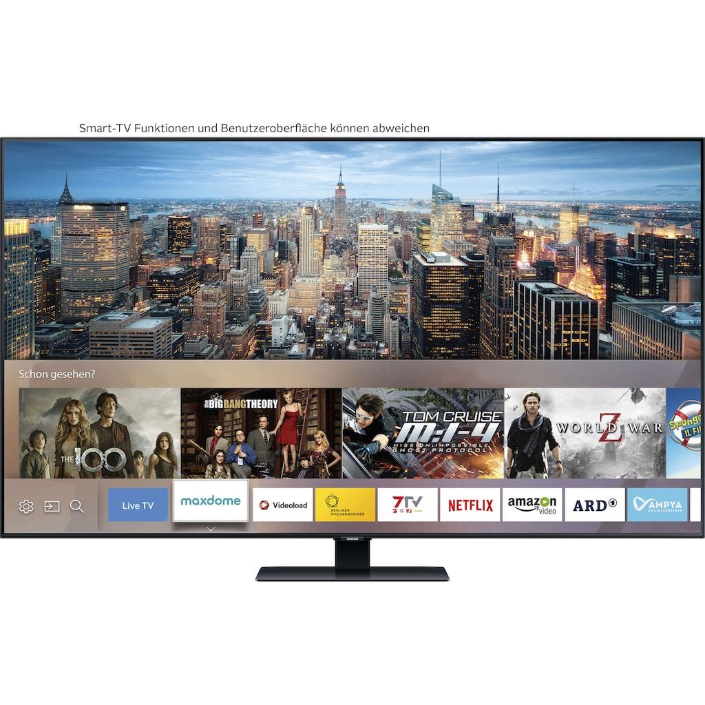 "Samsung QLED-Fernseher »GQ65Q80TGT«, 163 cm/65 "", 4K Ultra HD, Smart-TV"
