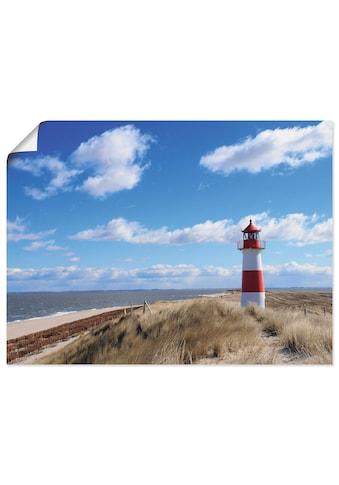 Artland Wandbild »Leuchtturm Sylt«, Gebäude, (1 St.) kaufen