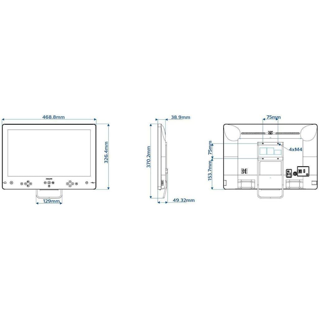 "Philips LCD-LED Fernseher »19HFL5014W/12 19«, 48 cm/19 """