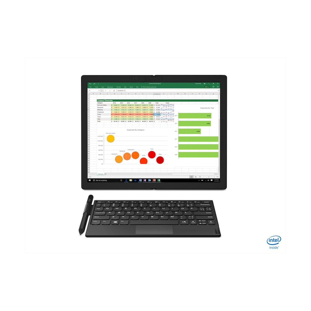 Lenovo Notebook »Lenovo Notebook ThinkPad X1 Fold«, ( 256 GB SSD)