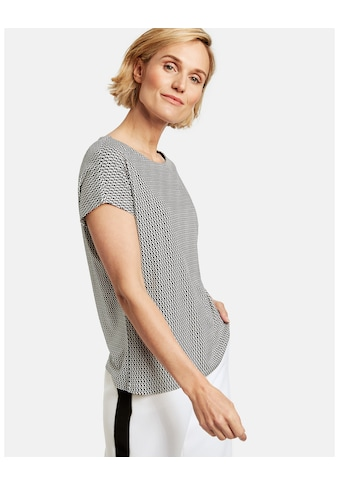 GERRY WEBER T - Shirt 1/2 Arm »Shirt mit grafischem Alloverprint« kaufen