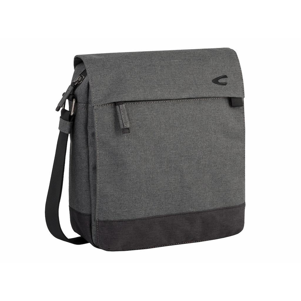 camel active Umhängetasche »HONG KONG«, Crossbody-Bag mit gepolstertem Laptop-Fach