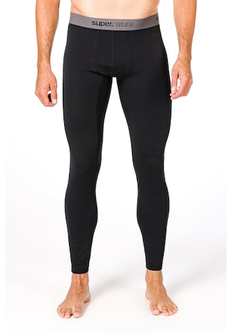 SUPER.NATURAL Funktionstights »M BASE TIGHT 175«, pflegeleichter Merino-Materialmix kaufen