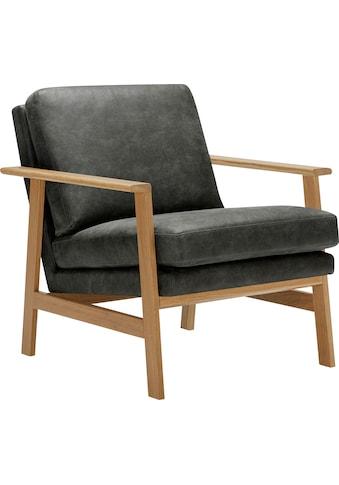 LOVI Sessel »Pepper«, mit hochwertigem massivem Eichengestell, neuer Klassiker mit zeitlosem Design kaufen
