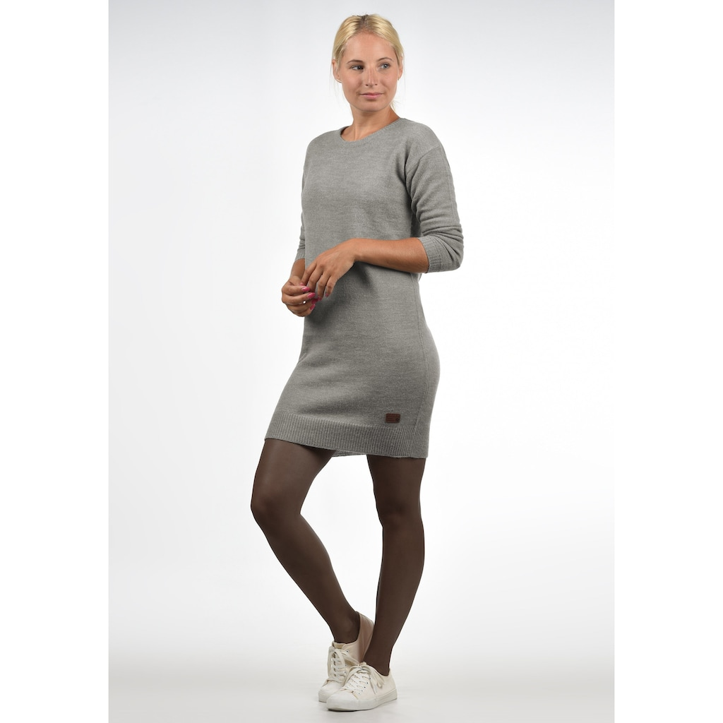 Blendshe Strickkleid »Natti«, Kleid mit Rundhalsausschnitt