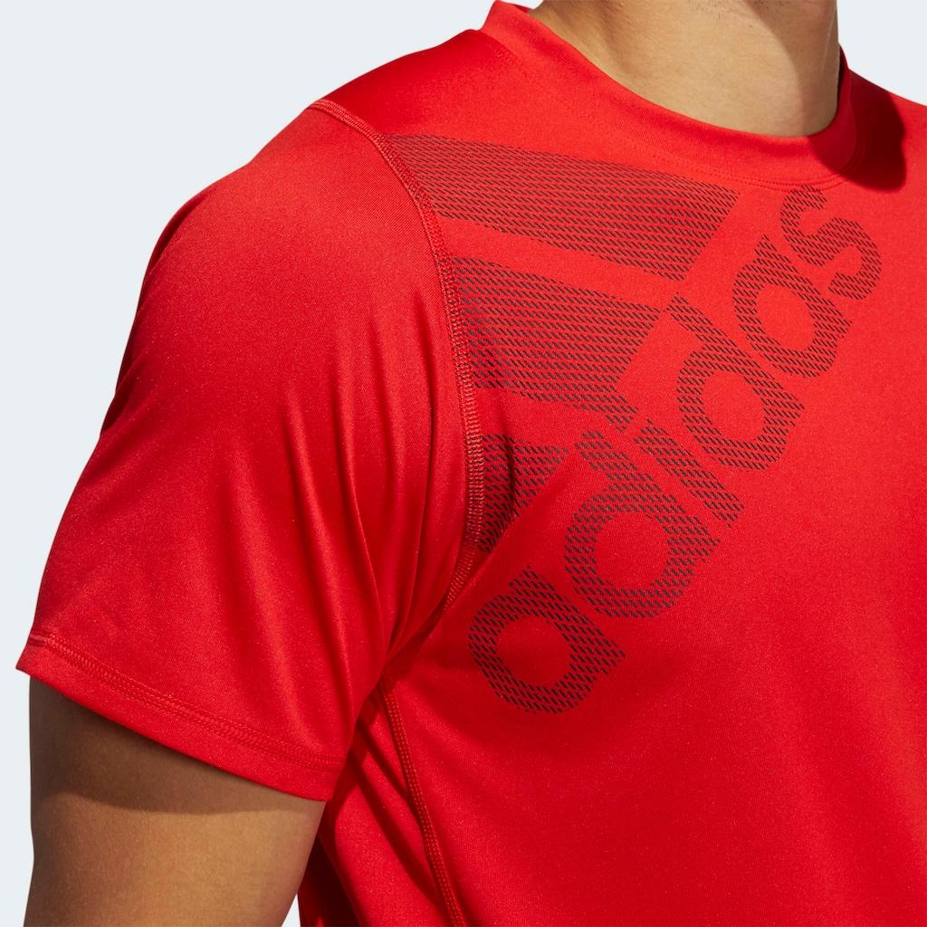 adidas Performance T-Shirt »FREELIFT BADGE OF SPORT GRAPHIC«