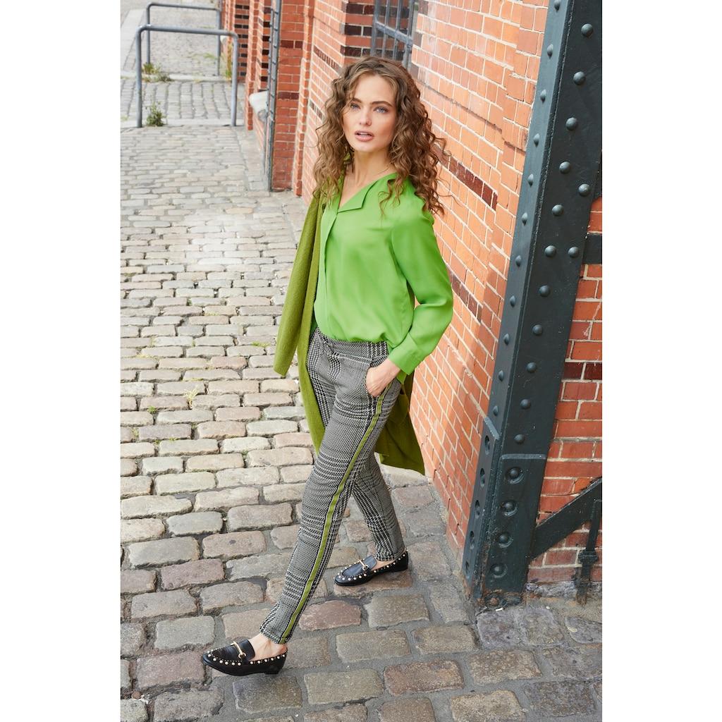 Aniston CASUAL Schlupfbluse, in trendigen Knallfarben