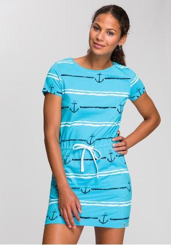 KangaROOS Shirtkleid, im tollen Vogel und Anker Druck oder unifarben kaufen