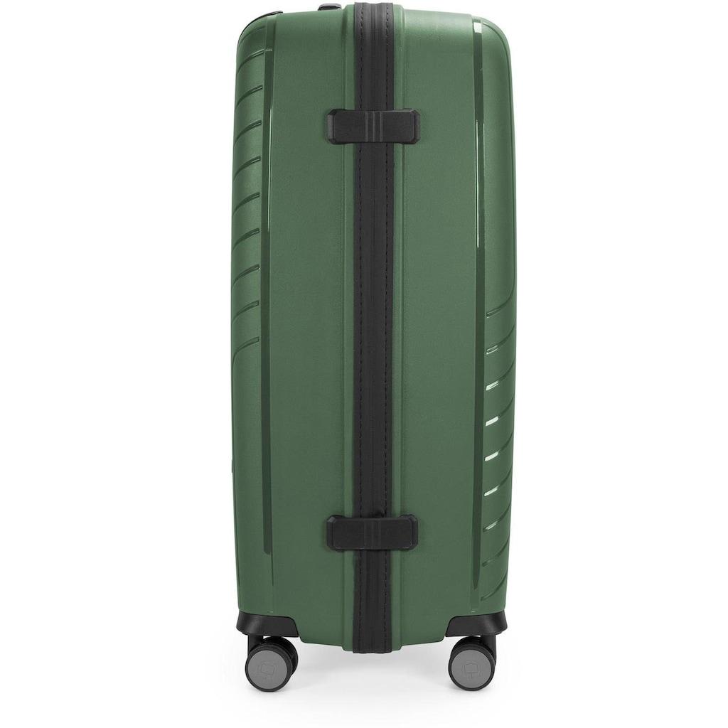 Hauptstadtkoffer Hartschalen-Trolley »TXL, 76 cm, dunkelgrün«, 4 Rollen