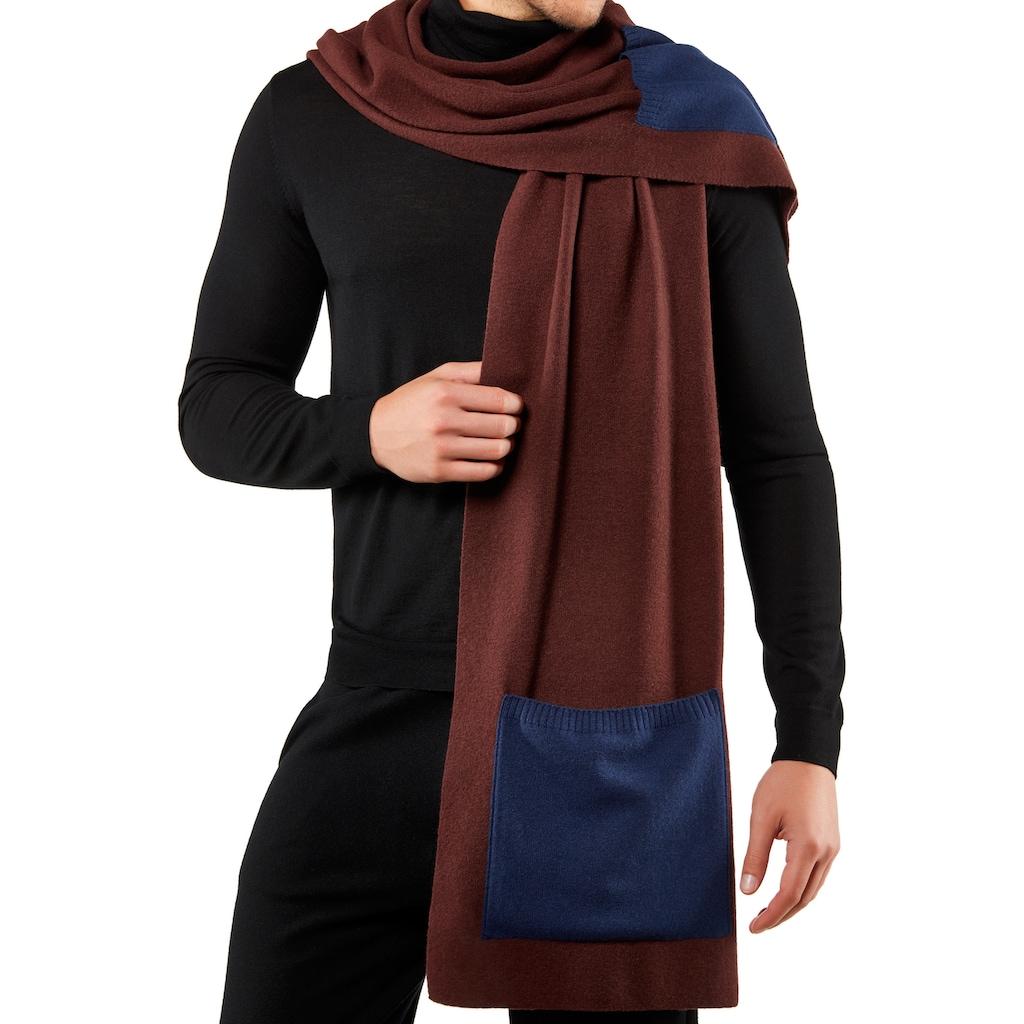 FALKE Modeschal »Schal«, mit Schurwolle und Kaschmir