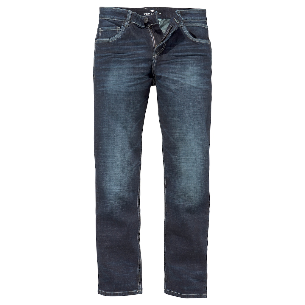 TOM TAILOR 5-Pocket-Jeans, im used-Look