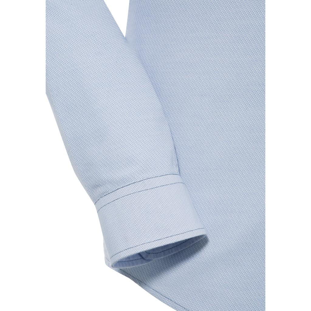 Spieth & Wensky Trachtenhemd, mit feinem Strukturmuster