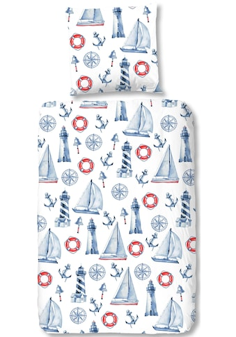 good morning Kinderbettwäsche »Rosi«, mit maritimen Motiven kaufen