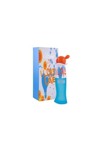 Moschino Eau de Toilette »Moschino Eau de Toilette I Love Love 30 ml« kaufen