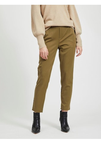 Object Anzughose »OBJLISA SLIM PANT«, mit Glencheckmuster in Cropped-Länge kaufen