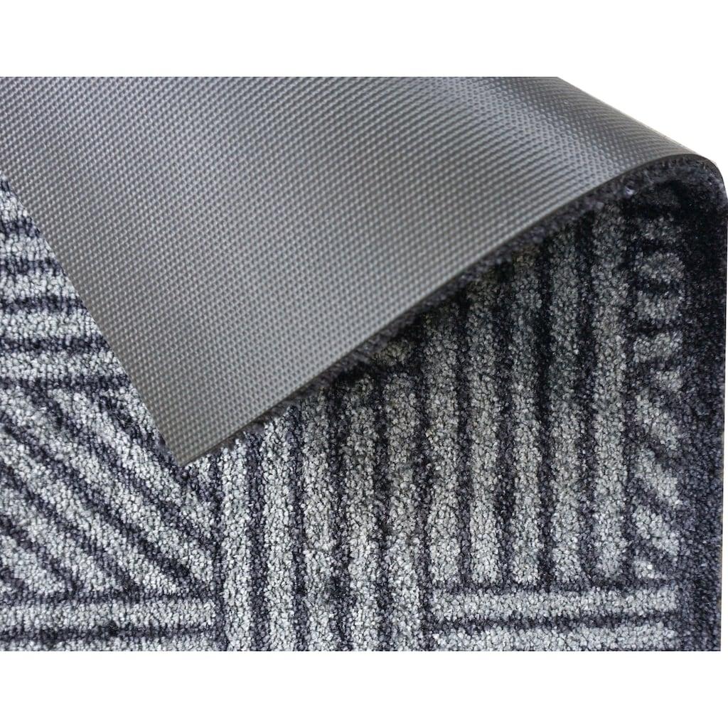 SCHÖNER WOHNEN-Kollektion Fussmatte »Manhattan 004«, rechteckig, 7 mm Höhe, Schmutzfangmatte, waschbar