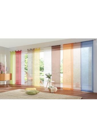 my home Schiebegardine »Xanten«, inkl. Beschwerungsstangen, transparent, Breite: 57 cm kaufen
